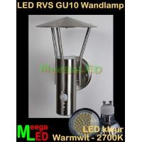 LED-RVS-GU10-Buitenlamp-Tuinlamp-Wandlamp-Amira-sensor