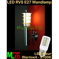 LED-RVS-E27-Buitenlamp-Tuinlamp-Wandlamp-Lamelo