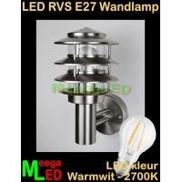 LED-RVS-E27-Buitenlamp-Tuinlamp-Wandlamp-Lynux