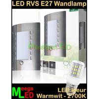 LED-RVS-E27-Buitenlamp-Tuinlamp-Wandlamp-Masin